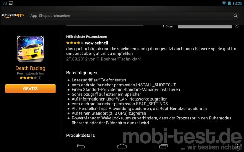 apps bei android