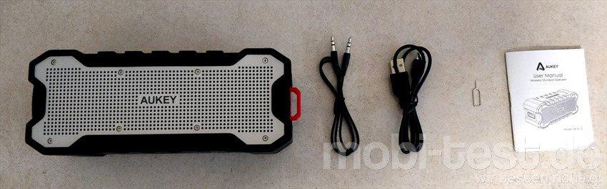 Aukey SK-M12 Outdoor Bluetooth Lautsprecher (2)