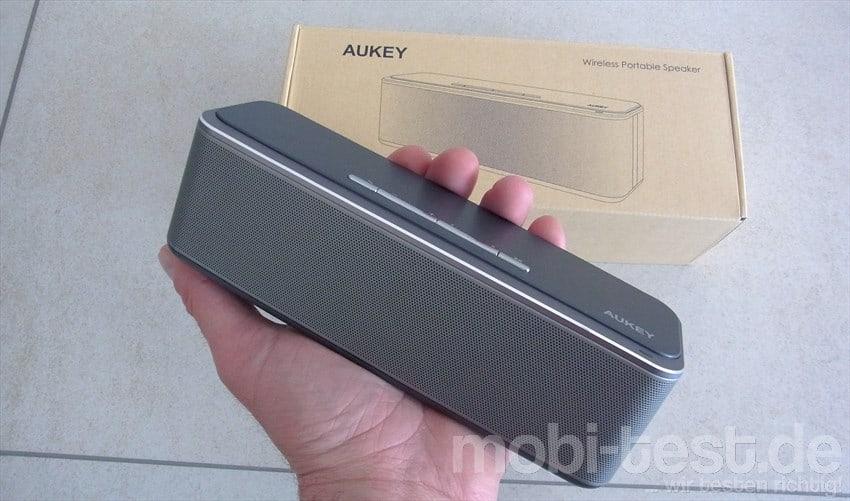 Im Test – der Aukey SK-S1 Bluetooth Lautsprecher mit 16W ...