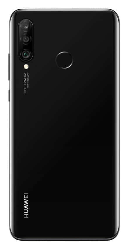 P30_lite_Black_Rear