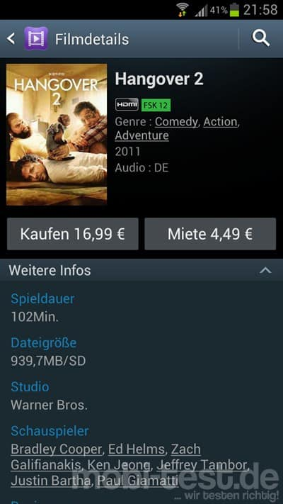 samsung app laden