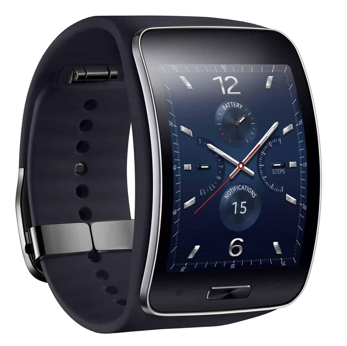 Samsung Gear S - eckig statt rund aber gebogen
