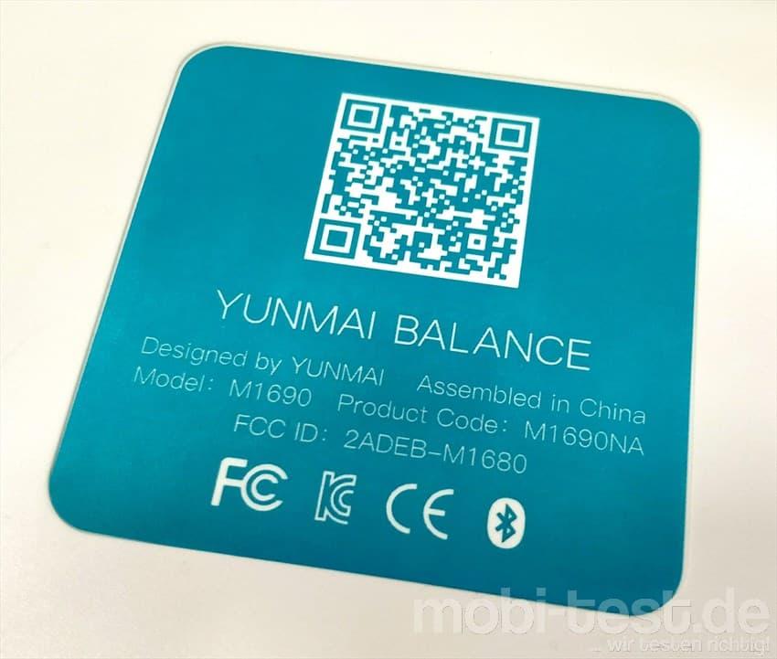Yunmai Balance Mini 2 Smart Scale (5)