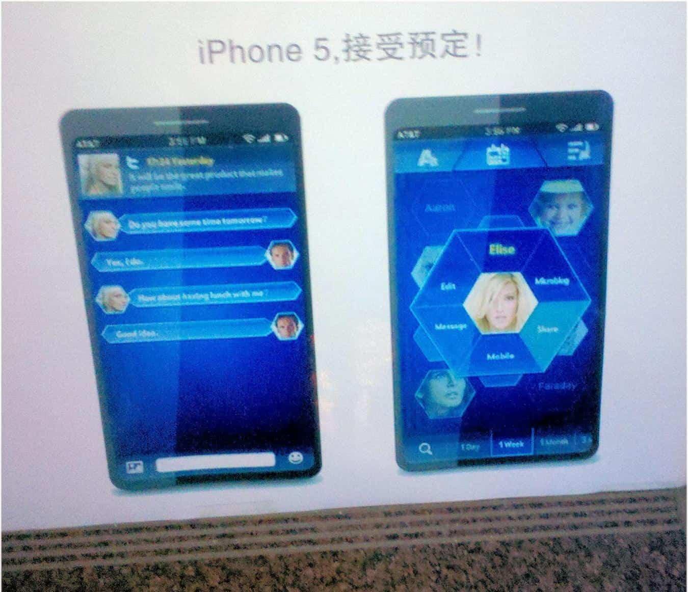 iphone 5 auf einem plakat in china aufgetaucht mobi test. Black Bedroom Furniture Sets. Home Design Ideas