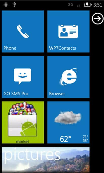 WP7Android