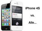 Das iPhone 4S gegen den Rest der Welt – ein direkter Vergleich der technischen Daten