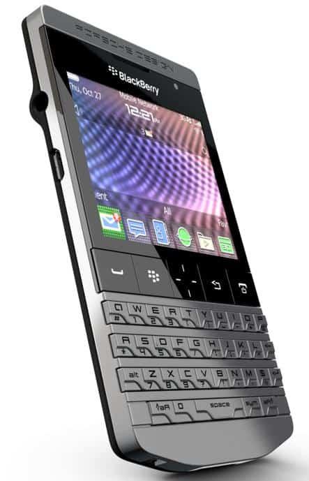 Blackberry + Porsche = P'9981