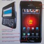 Motorola DROID 4 Datenblatt mit den offiziellen Spezifikationen aufgetaucht