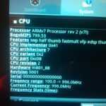 Pearl Touchlet X7G – der Prozessor und einige Fragen