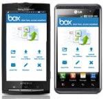 50GB Box.net Speicher für LG und Sony Ericsson Kunden gratis
