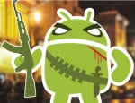 Android Logo Krieger