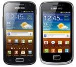 Samsung Galaxy Ace 2 und GALAXY mini 2 klein