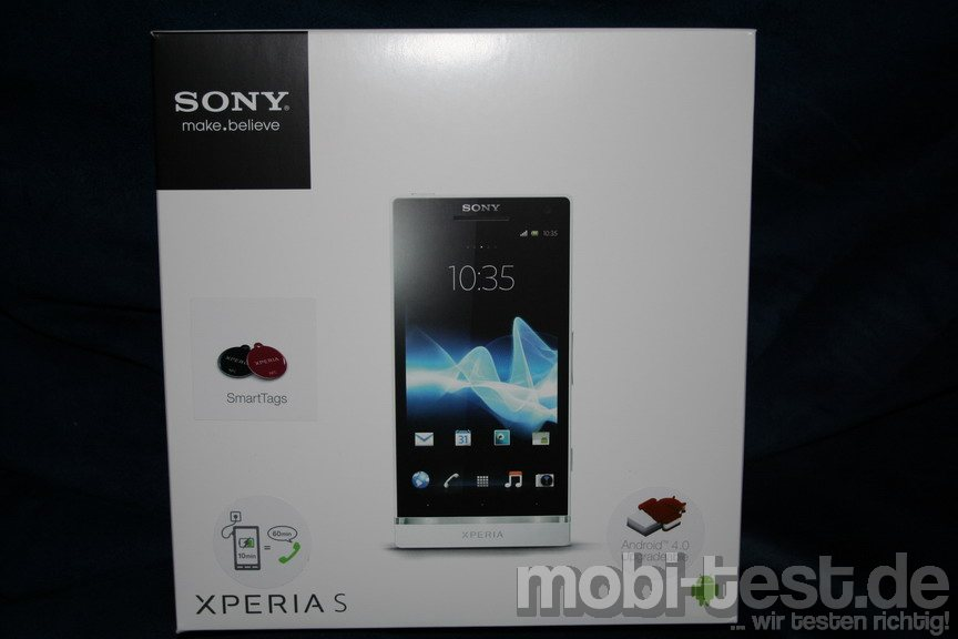 Verpackung Sony Xperia S