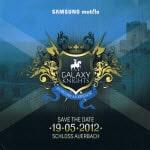 Einladung von Samsung zu den Galaxy Knights…