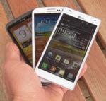 Samsung Galaxy S3 gegen HTC One X gegen LG Optimus 4X HD – der große Vergleichstest