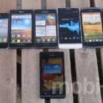 [Galerie] Huawei Ascend P1 – dürrer Androide im Vergleich zur Konkurrenz