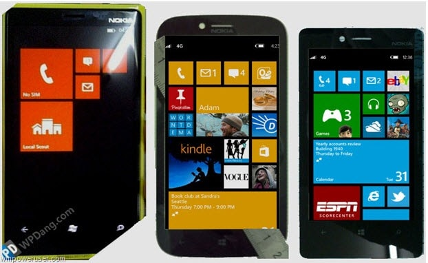 Nokia Windows Phone 8 Range