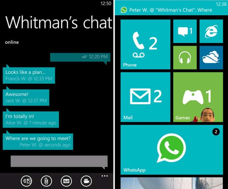 Whatsapp windows phone скачать - фото 4