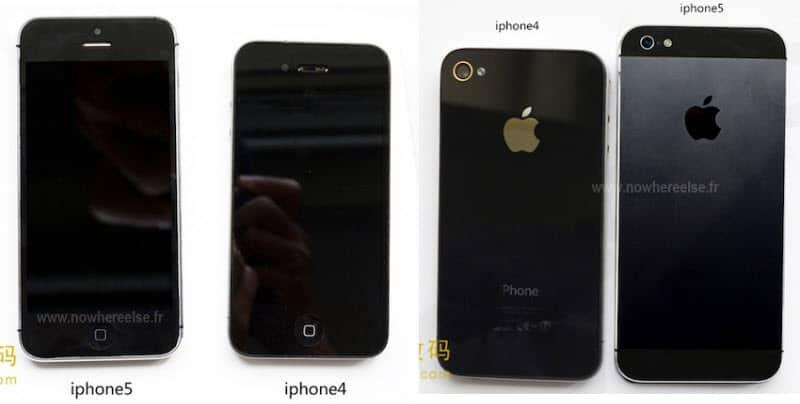 iPhone 5 im Vergleich zum iPhone 4S