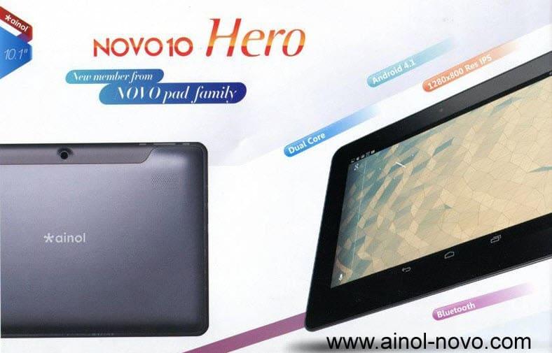 Ainol Novo 10 Hero Banner