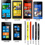 Die Windows Phone Geräte im Vergleich