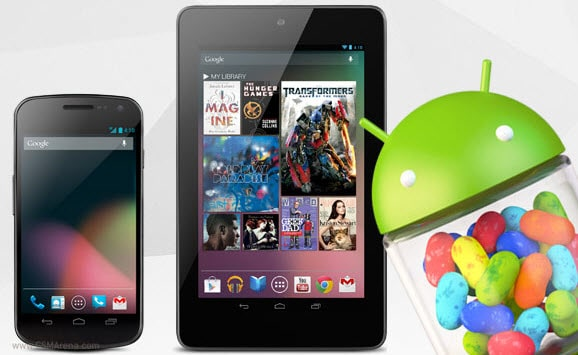 Android Jelly Bean Nexus