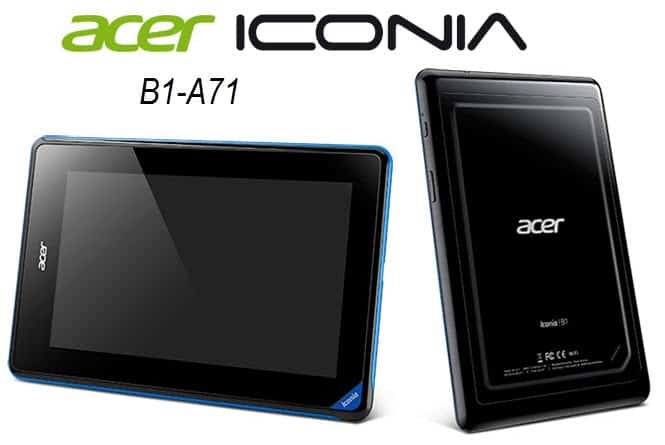 Acer  Iconia B1-A71 Banner