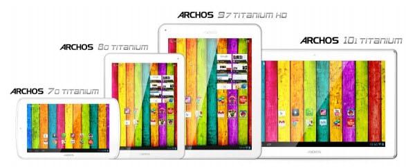 Archos Titanium Banner