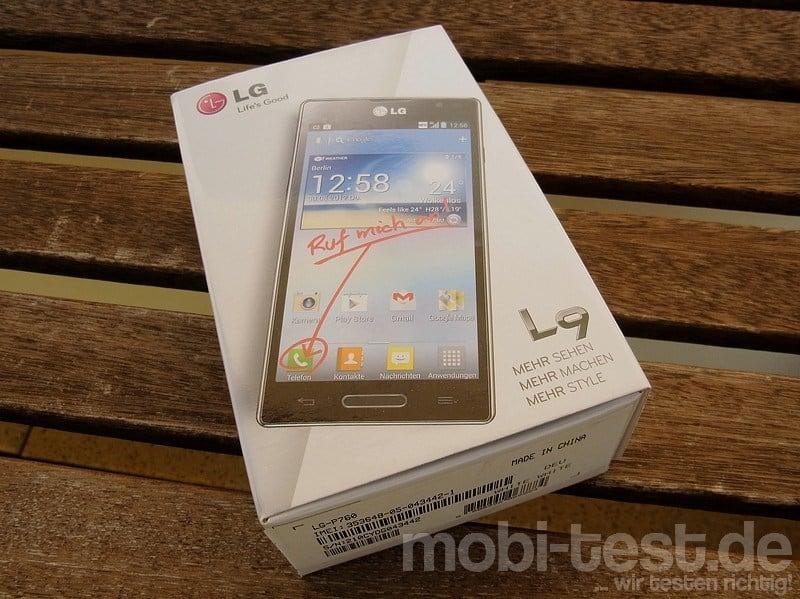 LG P760 Optimus L9 Unboxing (1)