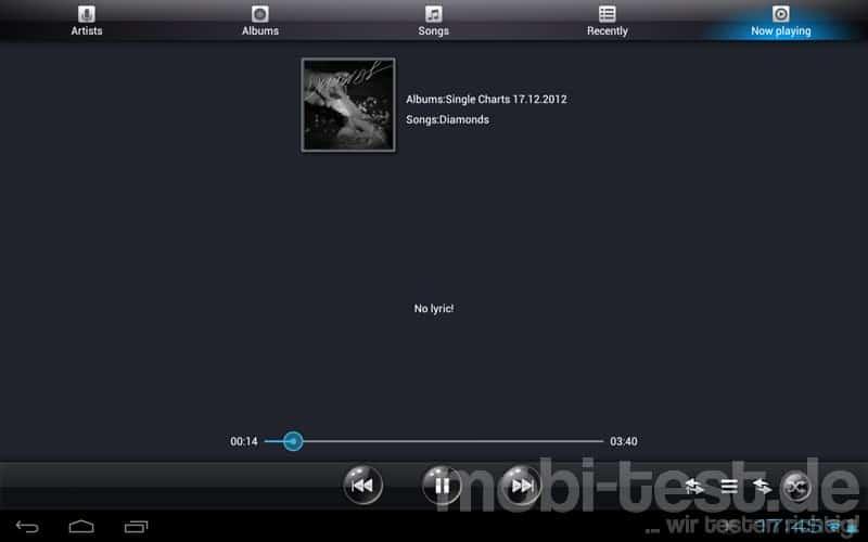 Ramos W30 Musik