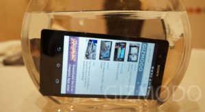 Sony Xperia Z_Wasserglas