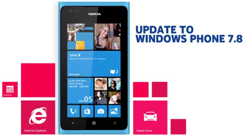 Windows Phone 7.8 Nokia Banner