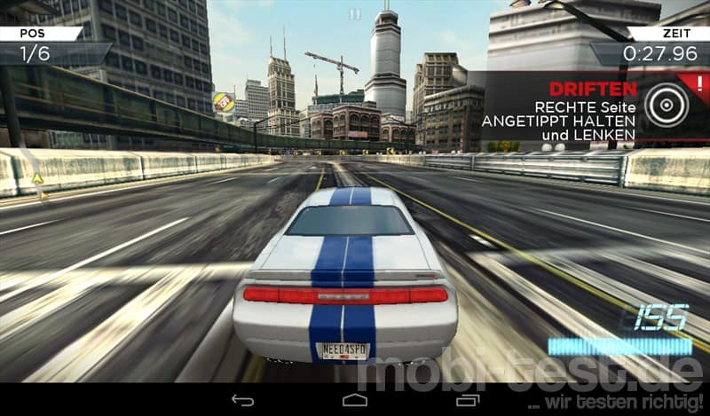 Acer Iconia B1 Need for Speed