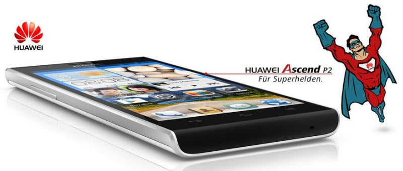 HUAWEI Ascend P2 Banner
