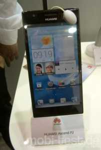 Huawei Ascend P2_2 Hands-On