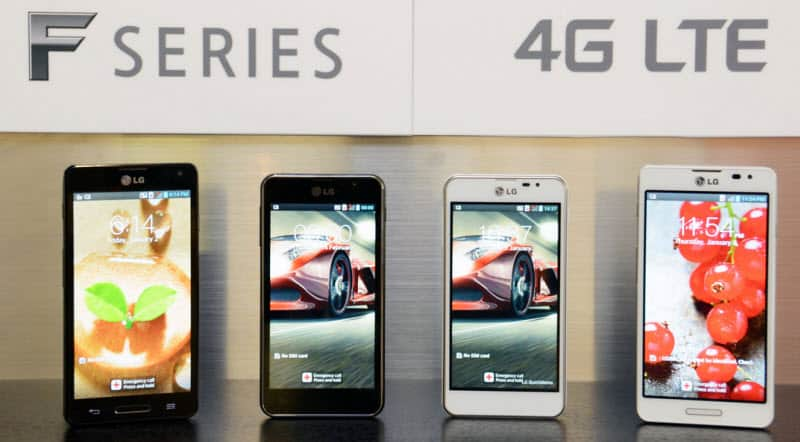LG F-Series Banner