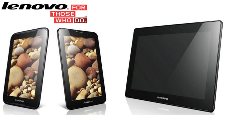 Lenovo IdeaTabs