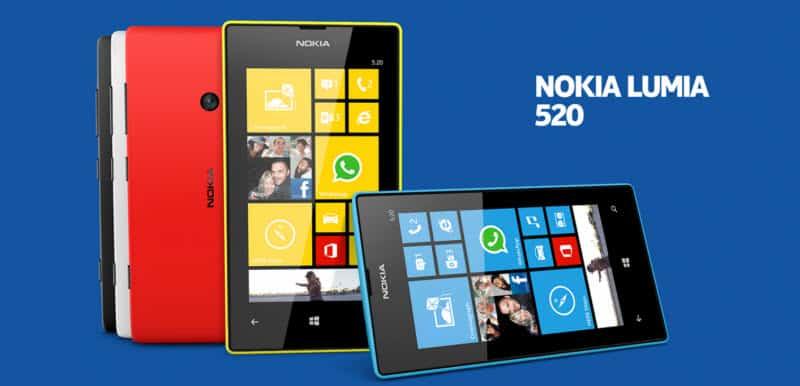 Nokia Lumia 520 Banner
