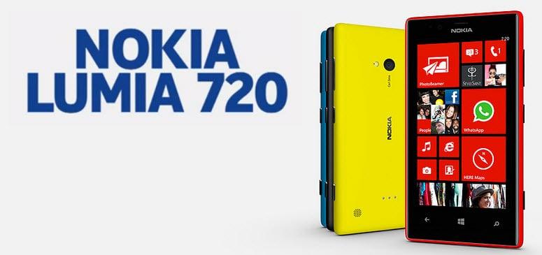 Nokia Lumia 720 Banner