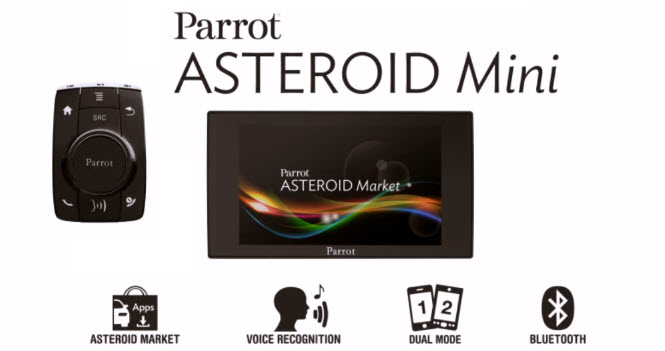 Parrot Asteroid Mini Banner