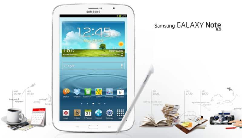 Samsung GALAXY Note 8.0 Banner