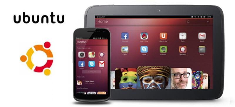Ubuntu mobile Logo