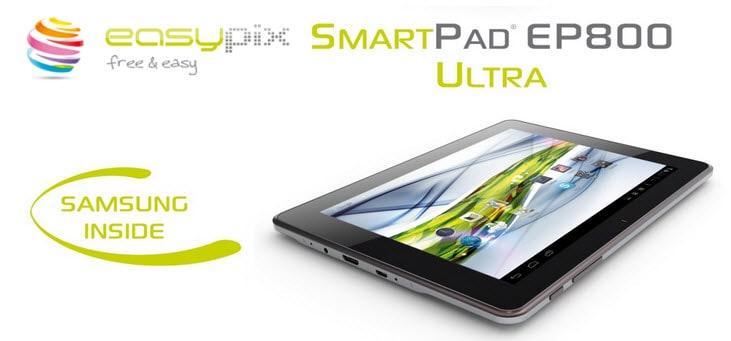 easypix SmartPad EP800 Ultra Banner