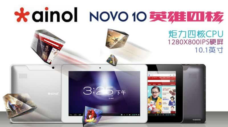 Ainol Novo 10 Hero 2 Quad Banner