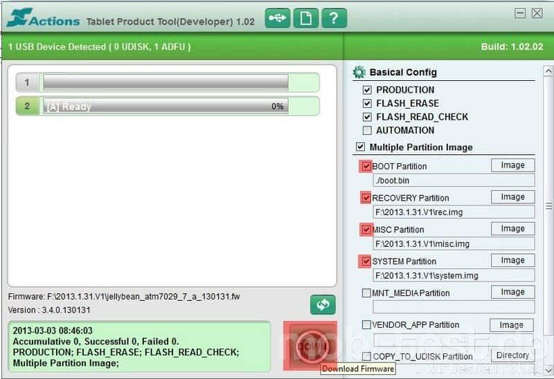 Ainol Novo Firmware flashen (6)
