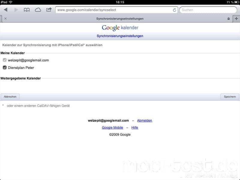 Google Kalender iOS synchronisieren FAQ