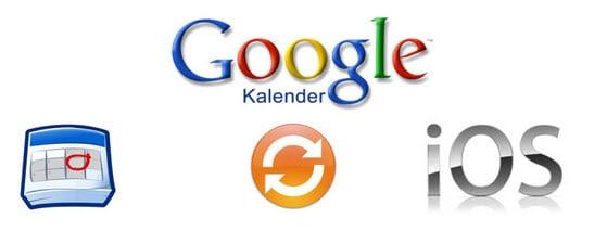 Google Kalender iOS synchronisieren