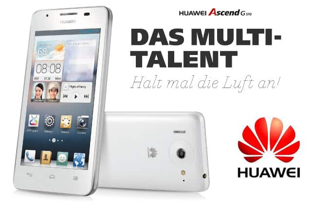 HUAWEI Ascend G510 Banner