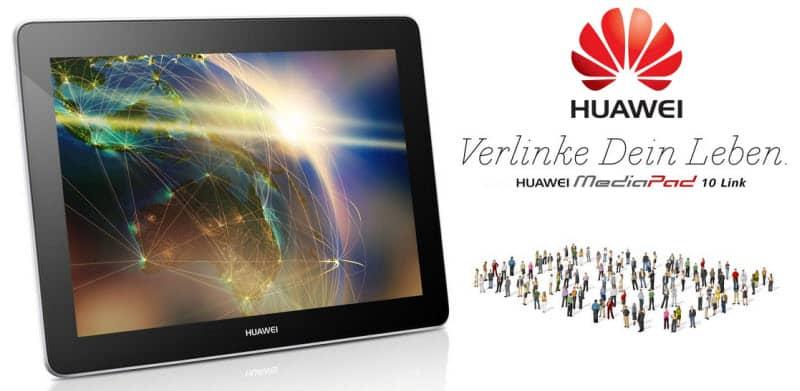 HUAWEI MediaPad 10 Link Banner
