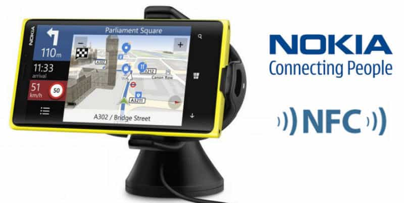 Nokia CR-200 NFC Wireless kfz Halter